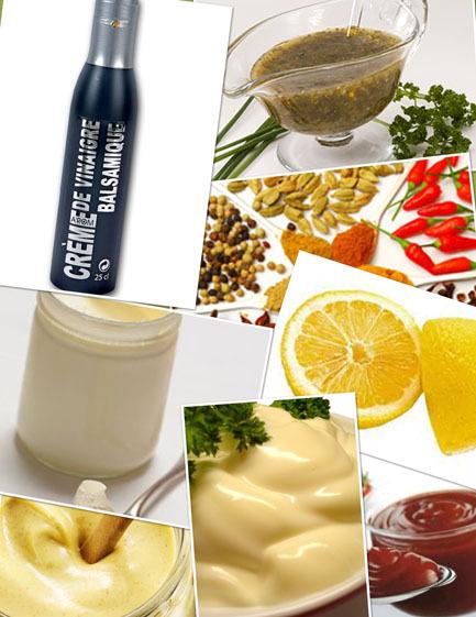 La crème de vinaigre n'est pas si inoffensive, un concentré de glucides.