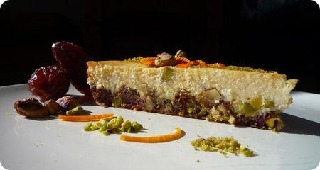 Insipide et élastique l'alimentation sans gluten... No Soucis, je me devoue pour finir votre part de Cheese Cake...