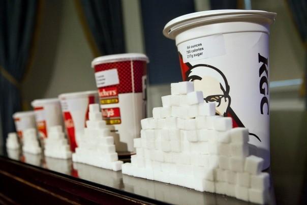 Les New-Yorkais revendiquent leur liberté d'obésité