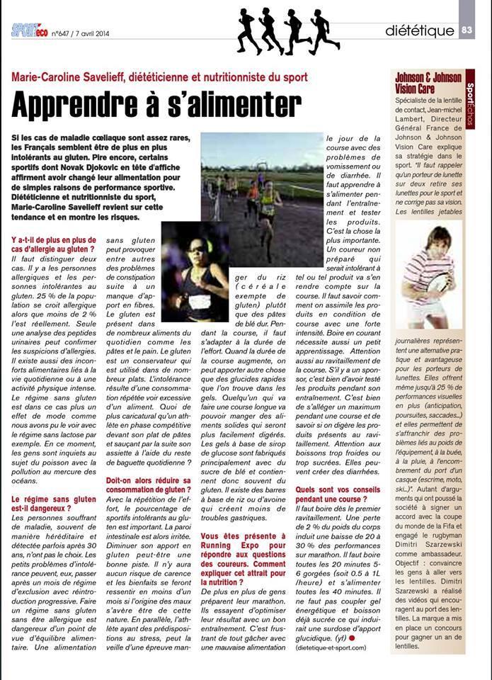 Magazine SPORTéco